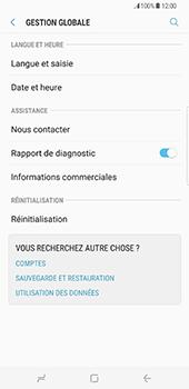 Samsung Galaxy S8 Plus - Device maintenance - Retour aux réglages usine - Étape 6