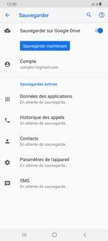 Samsung Galaxy A70 - Données - créer une sauvegarde avec votre compte - Étape 11