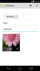 LG D821 Google Nexus 5 - Email - Sending an email message - Step 15