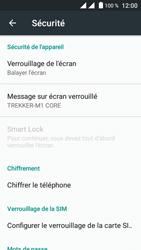 Crosscall Trekker M1 Core - Sécuriser votre mobile - Activer le code de verrouillage - Étape 5