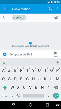 Motorola Moto E4 Plus - Contact, Appels, SMS/MMS - Envoyer un SMS - Étape 7