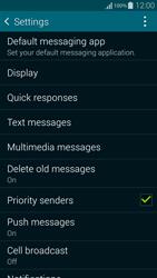Samsung G850F Galaxy Alpha - SMS - Manual configuration - Step 6