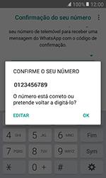 Samsung Galaxy Xcover 3 (G389) - Aplicações - Como configurar o WhatsApp -  10