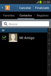 Samsung S6310 Galaxy Young - Mensajería - Escribir y enviar un mensaje multimedia - Paso 8