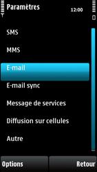 Nokia X6-00 - E-mail - Configurer l