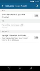 HTC One M9 - Internet et connexion - Partager votre connexion en Wi-Fi - Étape 6