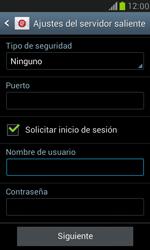 Samsung Galaxy S3 Mini - E-mail - Configurar correo electrónico - Paso 13