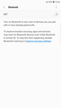 Samsung Galaxy S6 edge+ - Android Nougat - WiFi and Bluetooth - Setup Bluetooth Pairing - Step 6