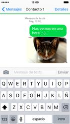 Apple iPhone SE - Mensajería - Escribir y enviar un mensaje multimedia - Paso 14