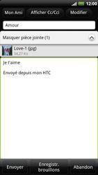HTC Z715e Sensation XE - E-mail - envoyer un e-mail - Étape 10