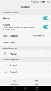 Huawei Mate 8 - Bluetooth - Jumeler avec un appareil - Étape 7