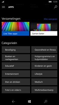 Microsoft Lumia 950 XL - Applicaties - Downloaden - Stap 10