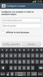 Samsung Galaxy S4 - E-mails - Ajouter ou modifier un compte e-mail - Étape 5