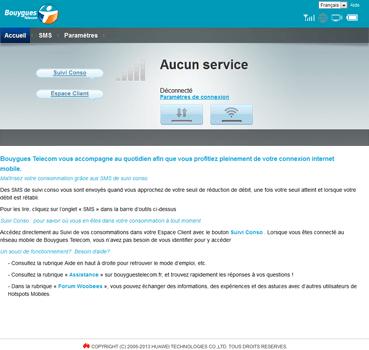 Alcatel MW40V - Internet et connexion - Activer la 4G - Étape 2
