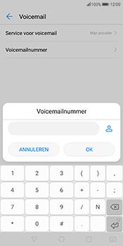 Huawei Mate 10 Pro - Voicemail - handmatig instellen - Stap 9