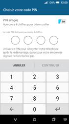 HTC One A9 - Sécuriser votre mobile - Activer le code de verrouillage - Étape 7