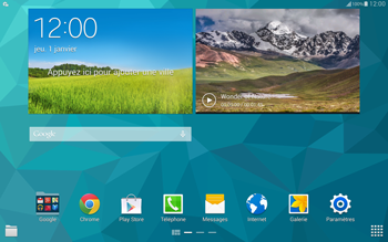 Samsung T805 Galaxy Tab S - MMS - Configuration automatique - Étape 3