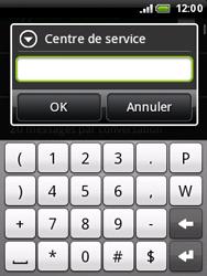 HTC A3333 Wildfire - SMS - Configuration manuelle - Étape 7
