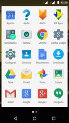 Motorola Moto E (2ª Geração) - Rede móvel - Como ativar e desativar uma rede de dados - Etapa 3