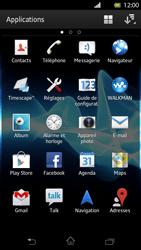 Sony LT30p Xperia T - Messagerie vocale - configuration manuelle - Étape 4