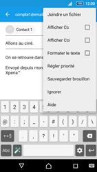 Sony Xperia Z5 Compact - E-mails - Envoyer un e-mail - Étape 10