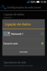 Alcatel POP C1 - Internet no telemóvel - Como ativar os dados móveis -  7