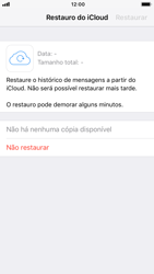 Apple iPhone 7 - iOS 12 - Aplicações - Como configurar o WhatsApp -  12