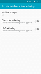 Samsung Galaxy S6 Edge - WiFi - Mobiele hotspot instellen - Stap 5