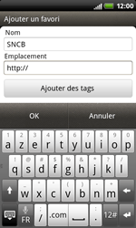 HTC S510b Rhyme - Internet - Navigation sur Internet - Étape 10