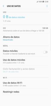 Samsung Galaxy Note 8 - Internet - Activar o desactivar la conexión de datos - Paso 8