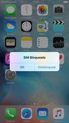 Apple iPhone iOS 9 - Funções básicas - Como reiniciar o aparelho - Etapa 5