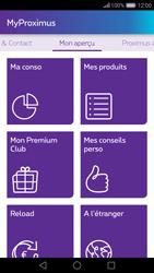 Huawei Nova - Applications - MyProximus - Étape 12