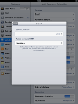 Apple iPad 2 - E-mail - Configuration manuelle - Étape 11