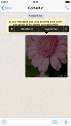 Apple iPhone 6 iOS 9 - WhatsApp - Supprimer les messages instantanés - Étape 8