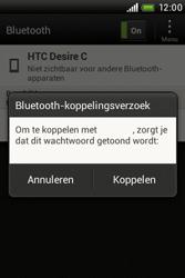 HTC A320e Desire C - Bluetooth - koppelen met ander apparaat - Stap 10