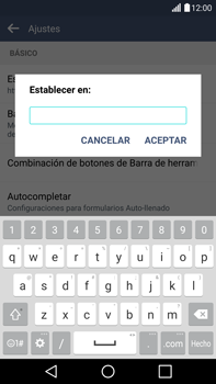LG G4 - Internet - Configurar Internet - Paso 24