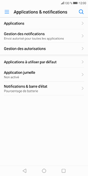 Huawei P Smart - Applications - Supprimer une application - Étape 5