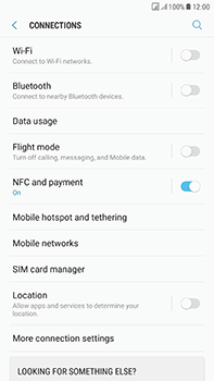 Samsung Galaxy J7 (2017) - Network - Usage across the border - Step 5