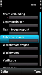 Nokia X6-00 - MMS - handmatig instellen - Stap 16