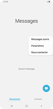Samsung Galaxy S9 Plus - Android Pie - SMS - configuration manuelle - Étape 5