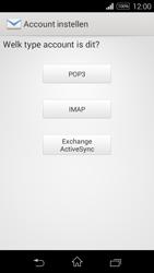Sony Xperia E3 - E-mail - e-mail instellen: IMAP (aanbevolen) - Stap 7
