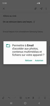 Samsung Galaxy S10 - E-mail - envoyer un e-mail - Étape 13