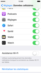 Apple iPhone SE - iOS 10 - Internet - Désactiver Assistance WiFi - Étape 6