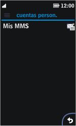 Nokia Asha 311 - Mensajería - Configurar el equipo para mensajes multimedia - Paso 13
