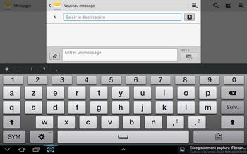 Samsung N8000 Galaxy Note 10-1 - MMS - envoi d'images - Étape 4