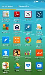 Alcatel OT-5050X Pop S3 - E-mails - Ajouter ou modifier un compte e-mail - Étape 3