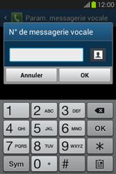Samsung S6810P Galaxy Fame - Messagerie vocale - Configuration manuelle - Étape 8