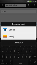 HTC One - MMS - afbeeldingen verzenden - Stap 12