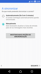 Sony Xperia XZ - Android Nougat - Email - Adicionar conta de email -  13