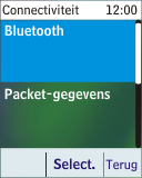 Nokia 113 - Bluetooth - Headset, carkit verbinding - Stap 5